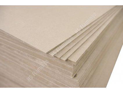 Žárobetonová deska 800x600x5 mm.
