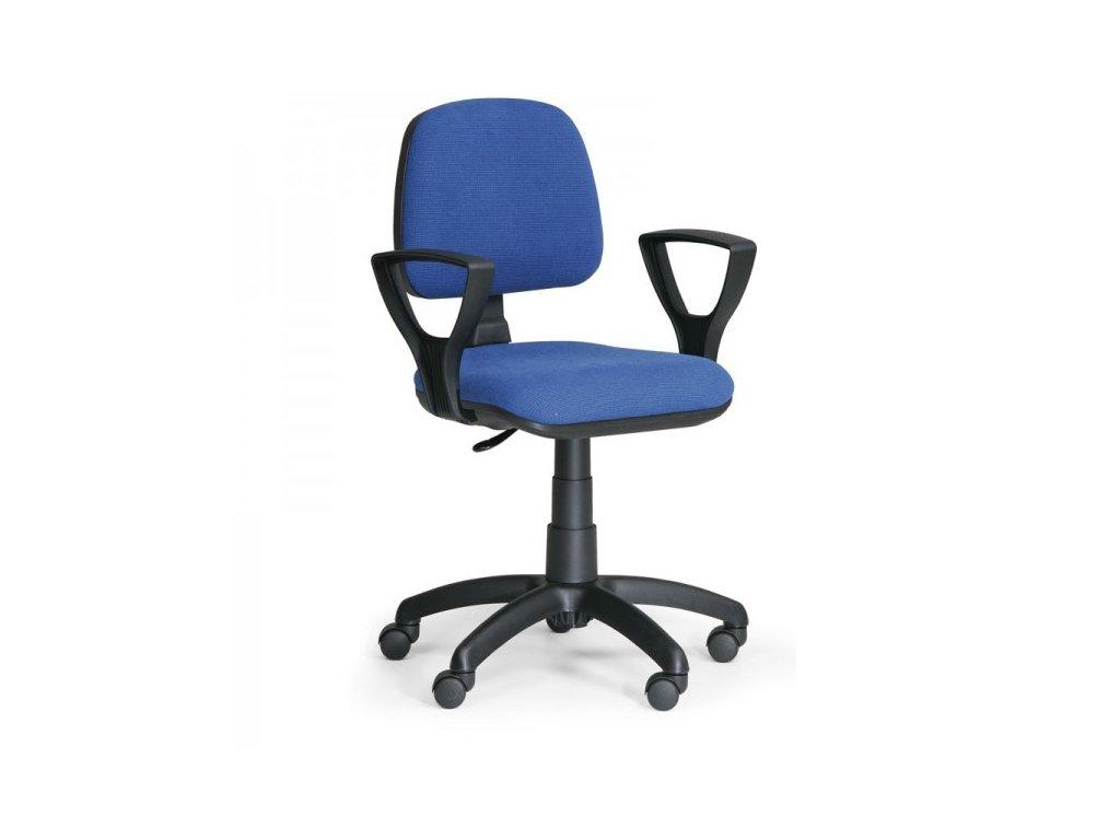 Pracovní židle Milano s područkami