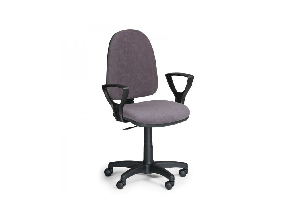 Pracovní židle Torino s područkami