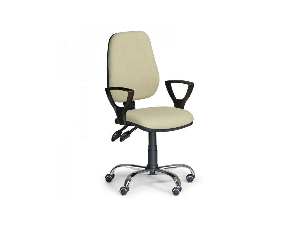 Pracovní židle Comfort SY s područkami