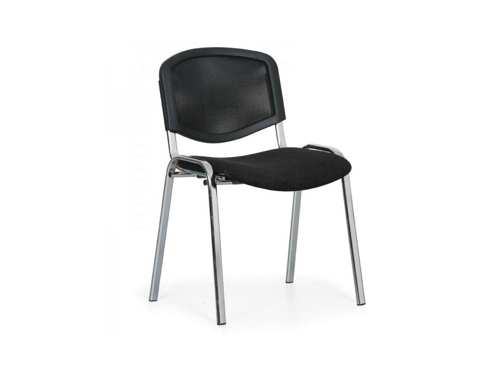 Konferenční židle Viva Mesh - chromované nohy