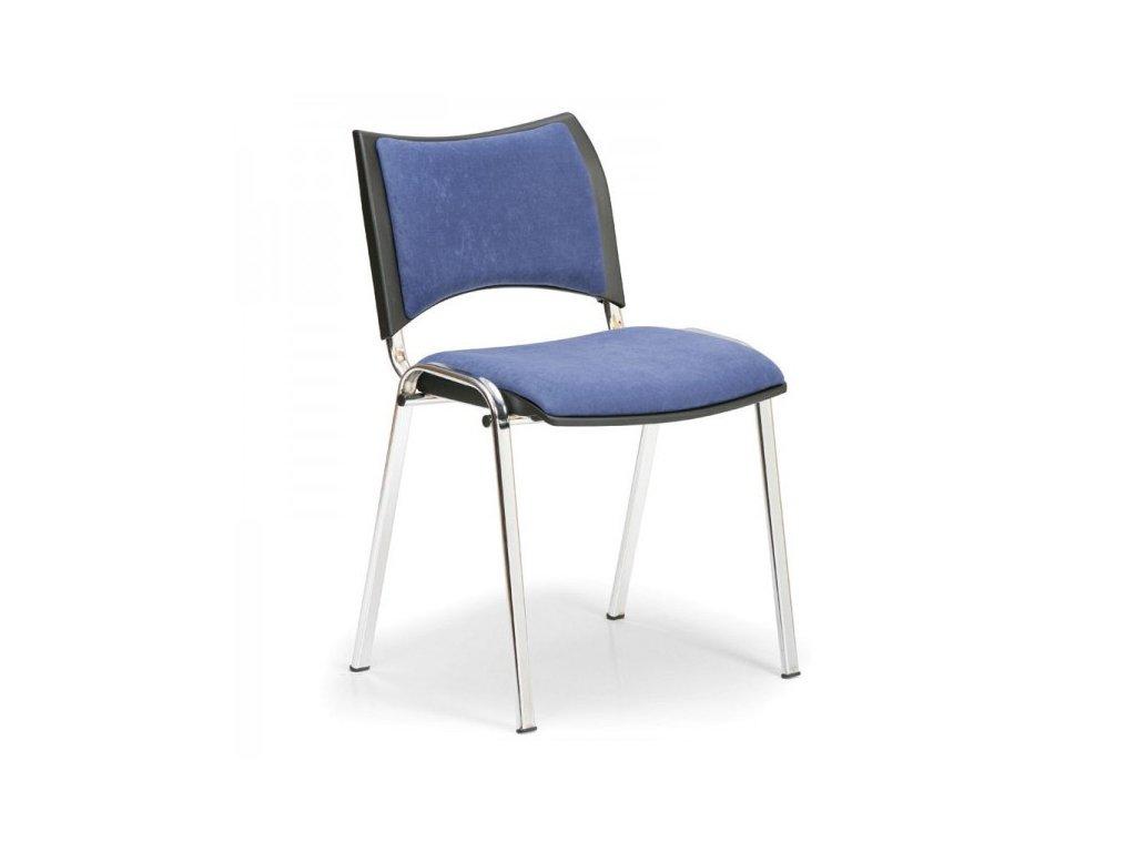 Konferenční židle SMART - chromované nohy