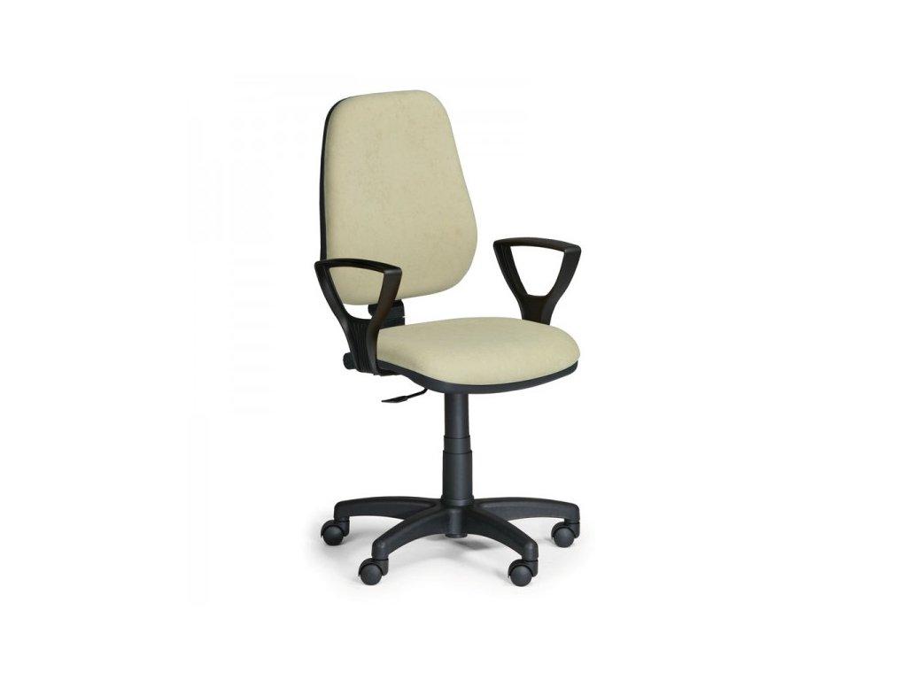 Pracovní židle Comfort KP s područkami