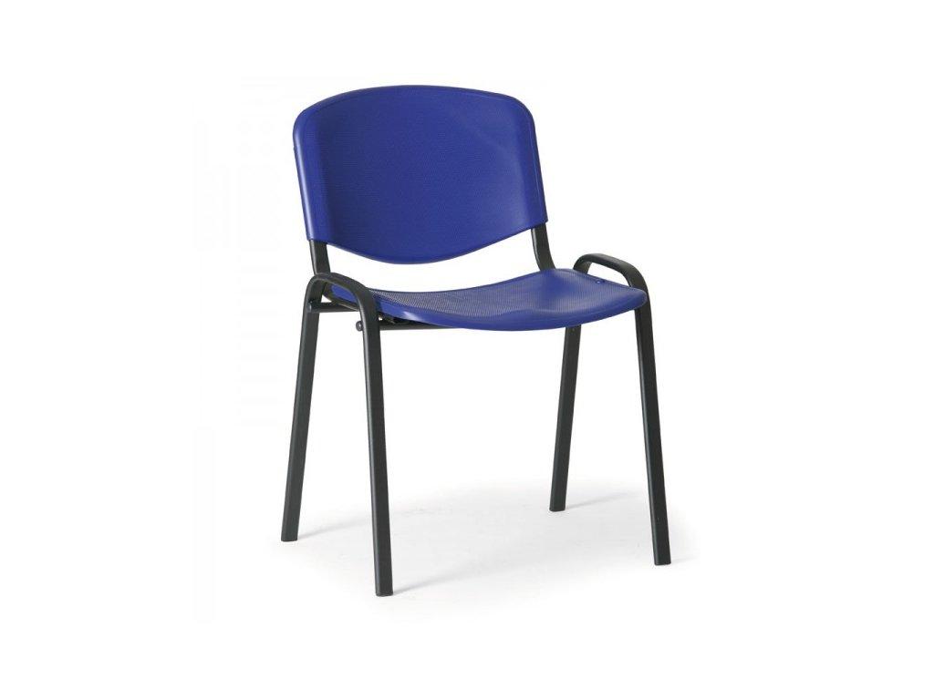 Plastová židle ISO - černé nohy