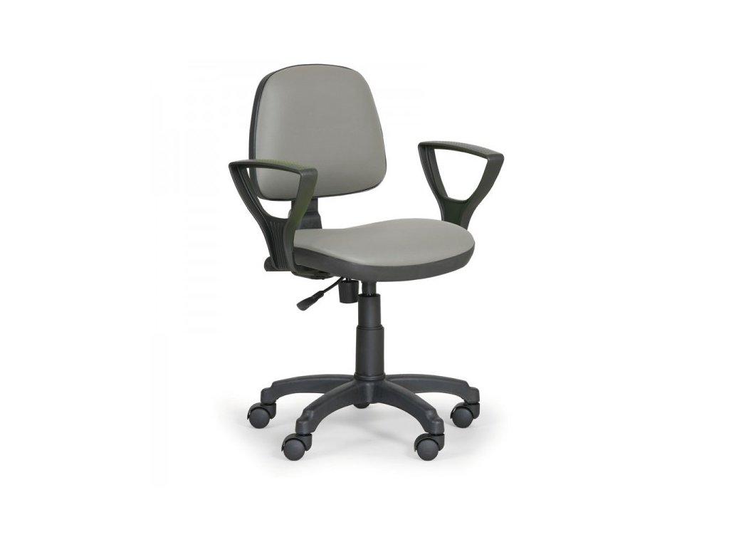 Pracovní židle Milano - s područkami