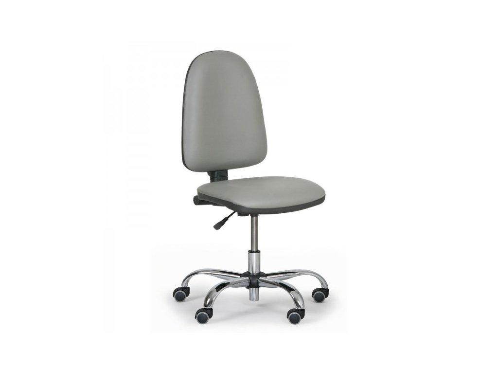 Pracovní židle Torino - chromový kříž