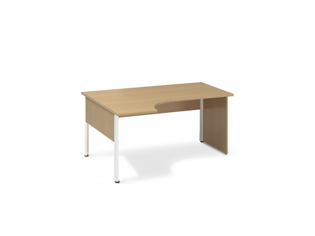 Ergonomický stůl ProOffice A 180 x 120 cm, levý / Buk