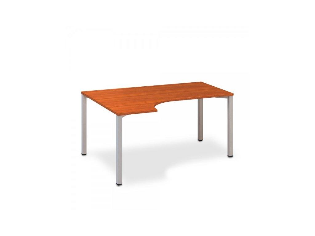 Ergonomický stůl ProOffice B 180 x 120 cm, levý / Třešeň