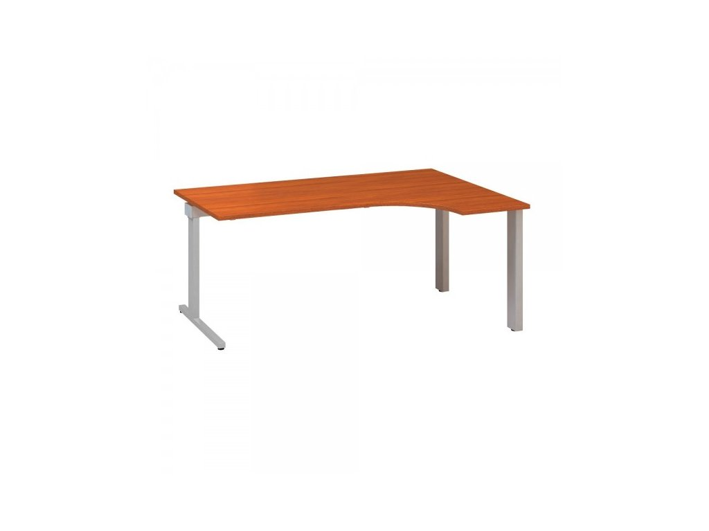 Ergonomický stůl ProOffice C 180 x 120 cm, pravý / Třešeň