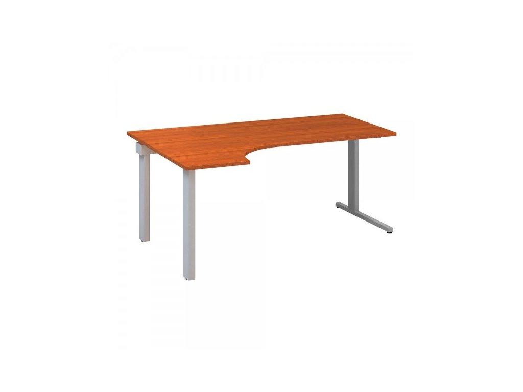Ergonomický stůl ProOffice C 180 x 120 cm, levý / Třešeň
