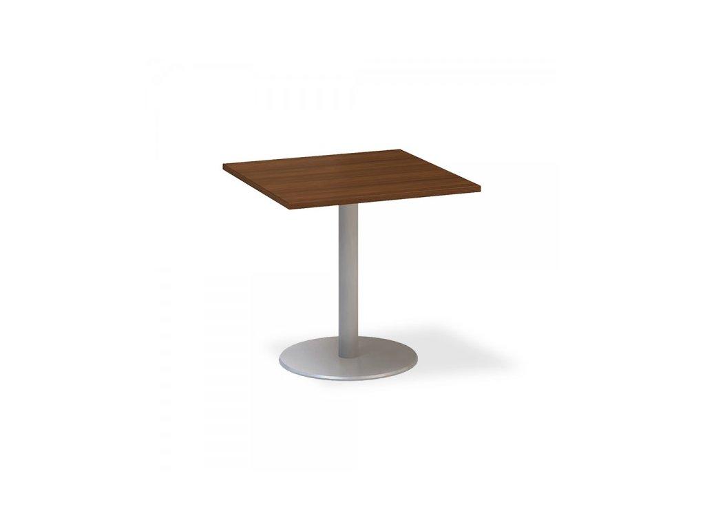 Jednací stůl ProOffice 80 x 80 cm / Ořech