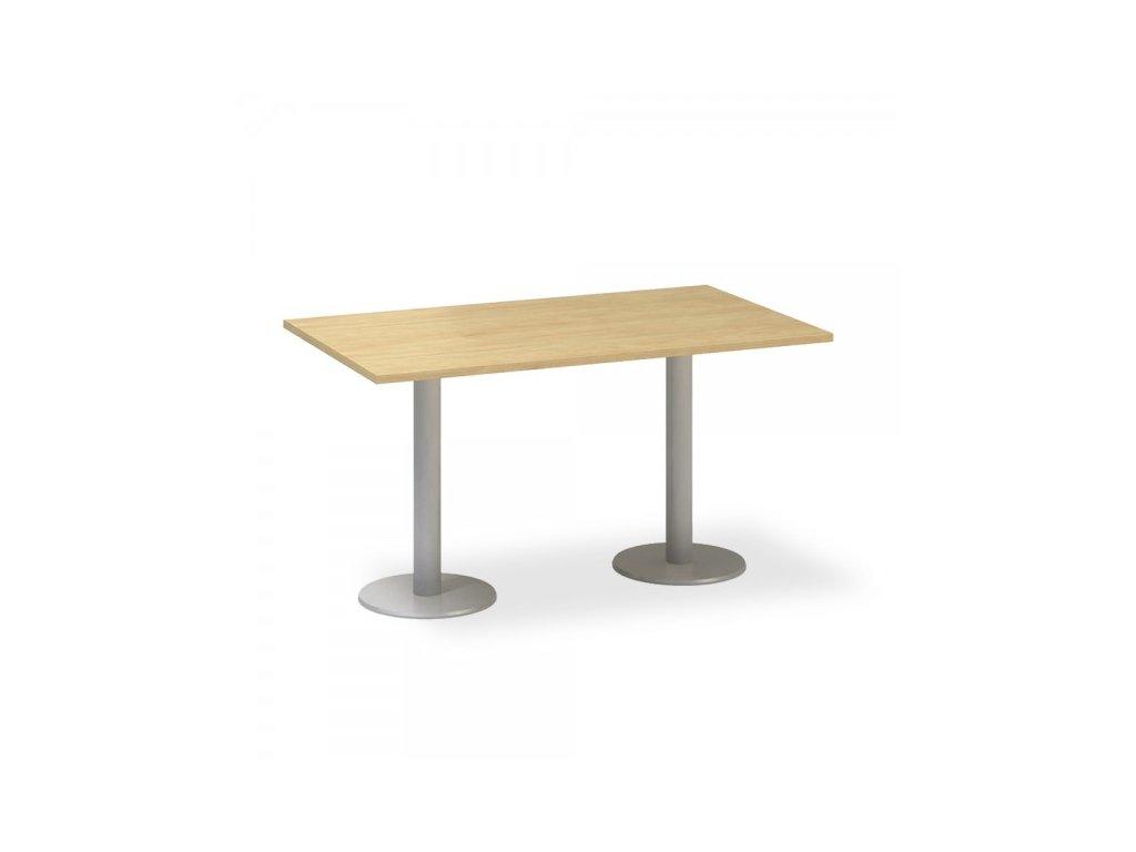 Jednací stůl ProOffice 140 x 80 cm / Hruška
