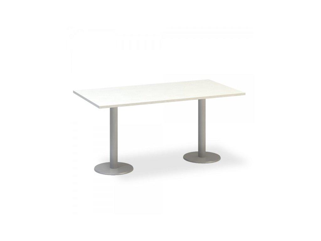 Jednací stůl ProOffice 160 x 80 cm / Bílá