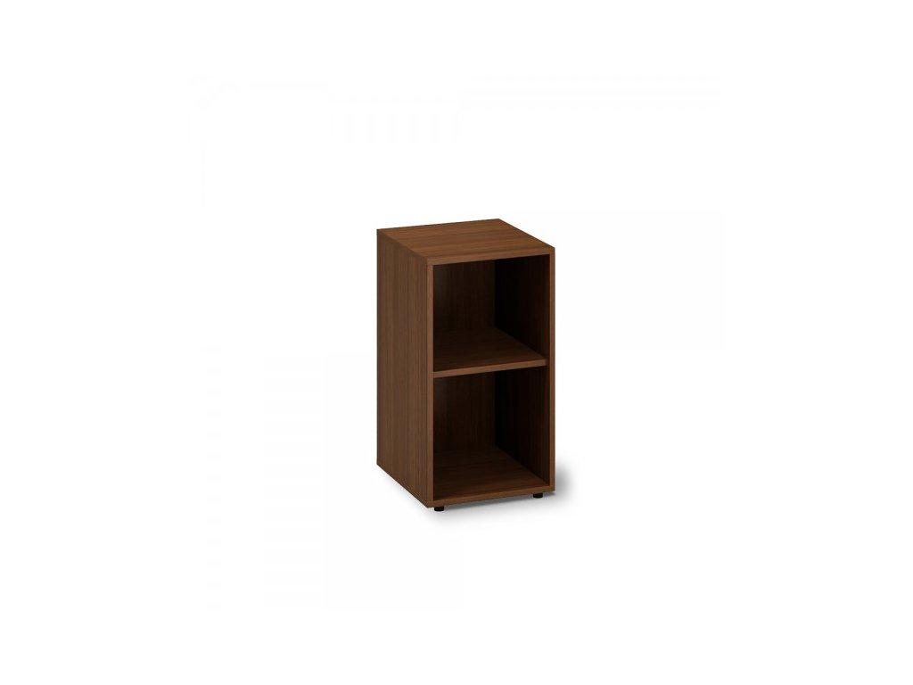 Nízká skříň ProOffice 40 x 45 x 73,5 cm / Ořech
