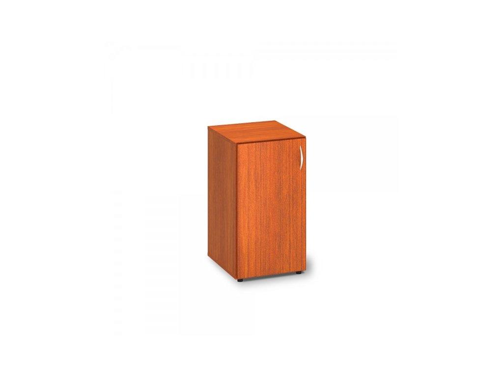 Nízká skříň ProOffice 40 x 47 x 73,5 cm, levá / Třešeň