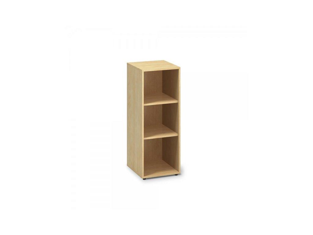 Střední úzká skříň ProOffice 40 x 45 x 106,3 cm / Hruška