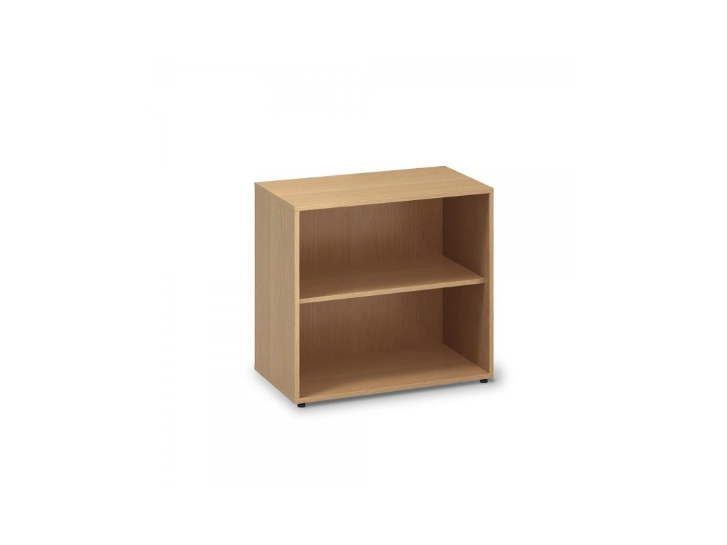 Nízká skříň ProOffice 80 x 45 x 73,5 cm / Buk