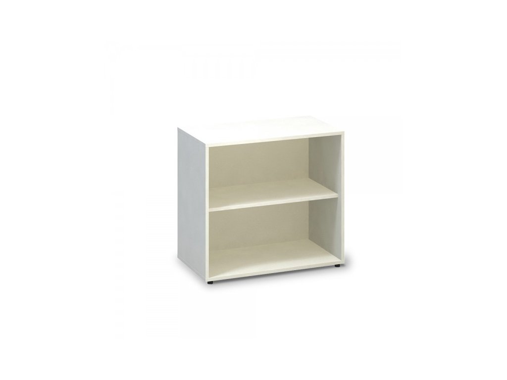 Nízká skříň ProOffice 80 x 45 x 74,2 cm / Bílá