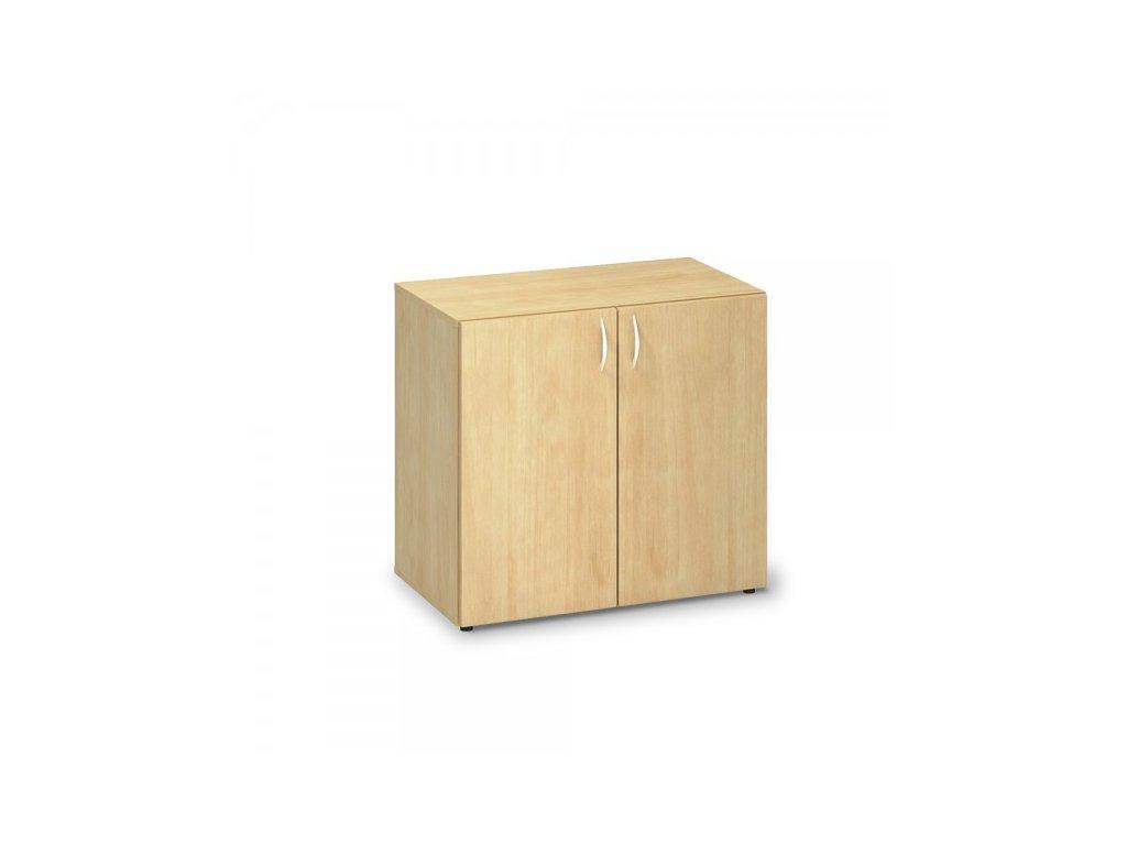 Nízká skříň ProOffice 80 x 47 x 74,2 cm / Hruška