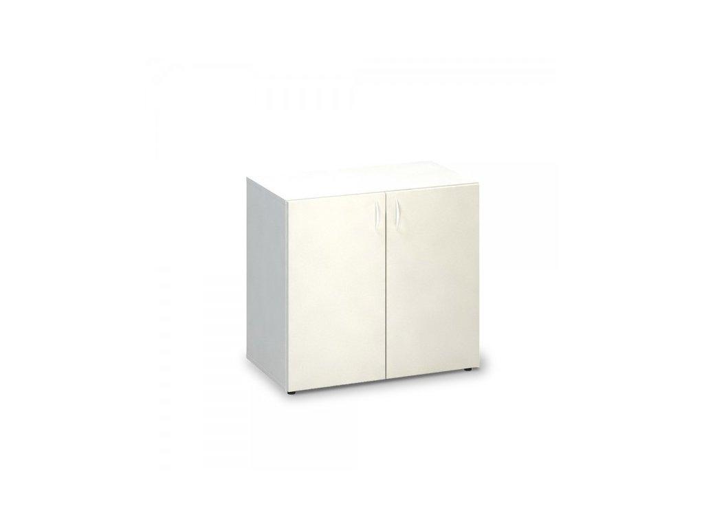 Nízká skříň ProOffice 80 x 47 x 74,2 cm / Bílá