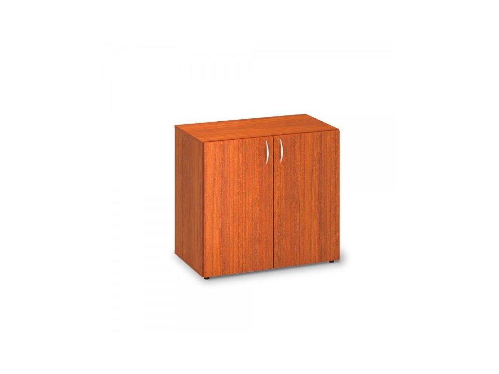 Nízká skříň ProOffice 80 x 47 x 73,5 cm / Třešeň