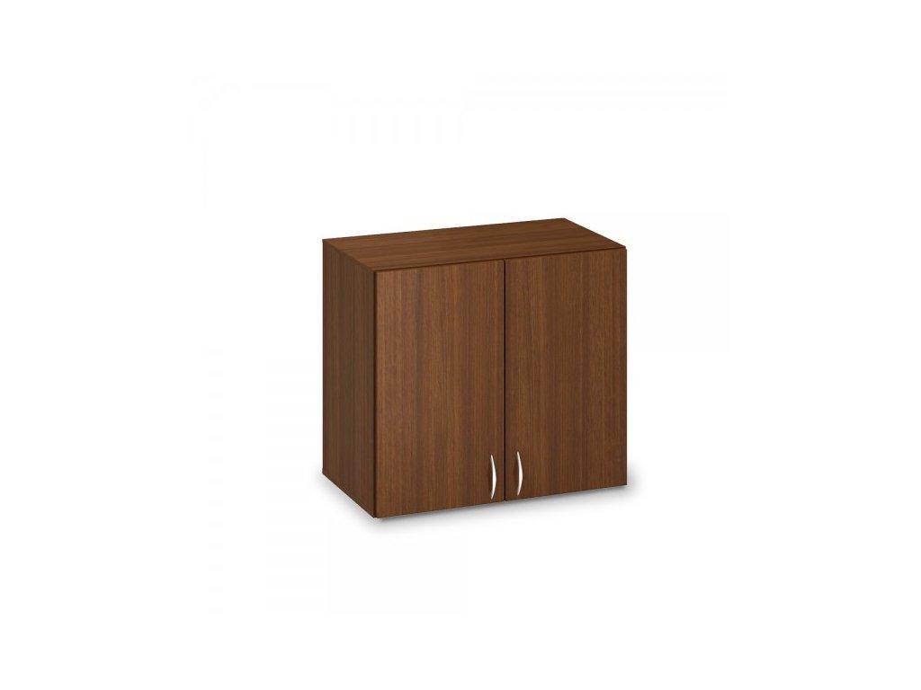 Nástavbová skříň ProOffice 80 x 47 x 71,7 cm / Ořech