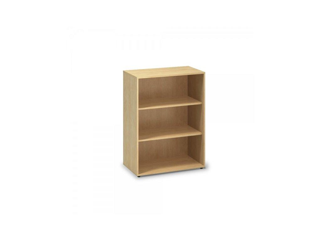 Střední skříň ProOffice 80 x 45 x 106,3 cm / Hruška