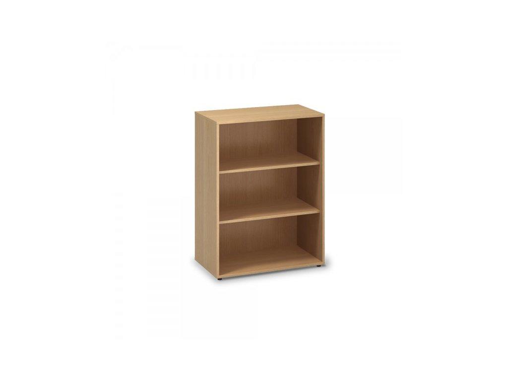 Střední skříň ProOffice 80 x 45 x 106,3 cm / Buk
