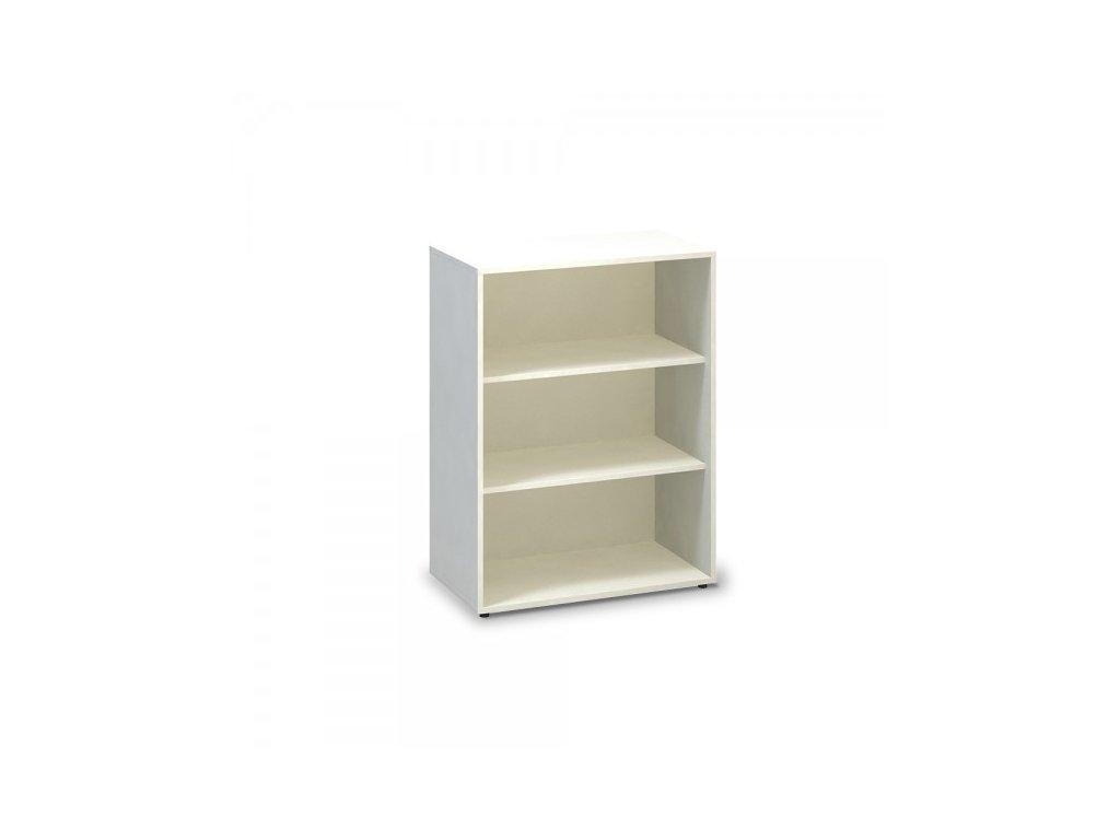 Střední skříň ProOffice 80 x 45 x 106,3 cm / Bílá