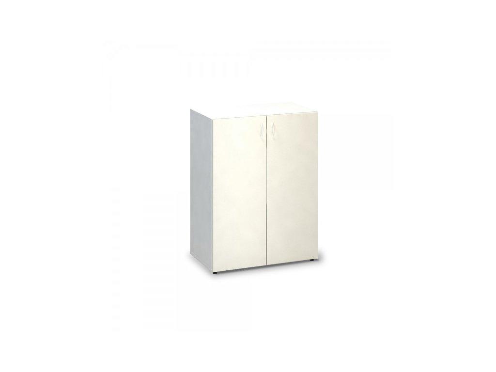 Střední skříň ProOffice 80 x 47 x 106,3 cm / Bílá