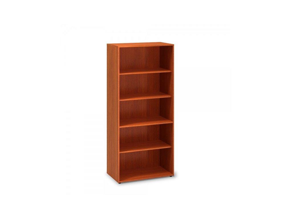 Vysoká skříň ProOffice 80 x 45 x 178 cm / Třešeň