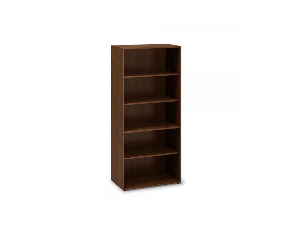 Vysoká skříň ProOffice 80 x 45 x 178 cm / Ořech