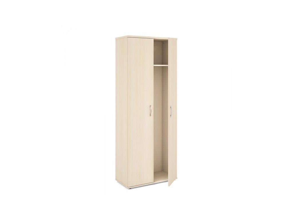 Vysoká šatní skříň Impress 74 x 37 x 190 cm / Javor