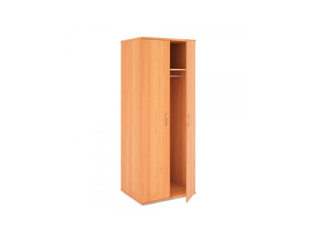 Vysoká šatní skříň Impress 74 x 58 x 190 cm / Hruška