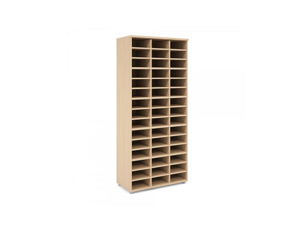 Vysoká skříň Praktik 80 x 40 x 182,1 cm / Javor