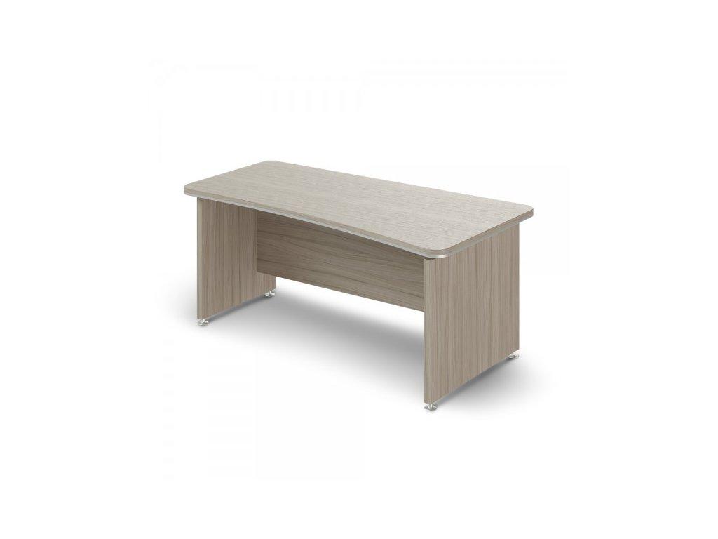 Ergonomický stůl TopOffice 180 x 94,8 cm, pravý / Driftwood