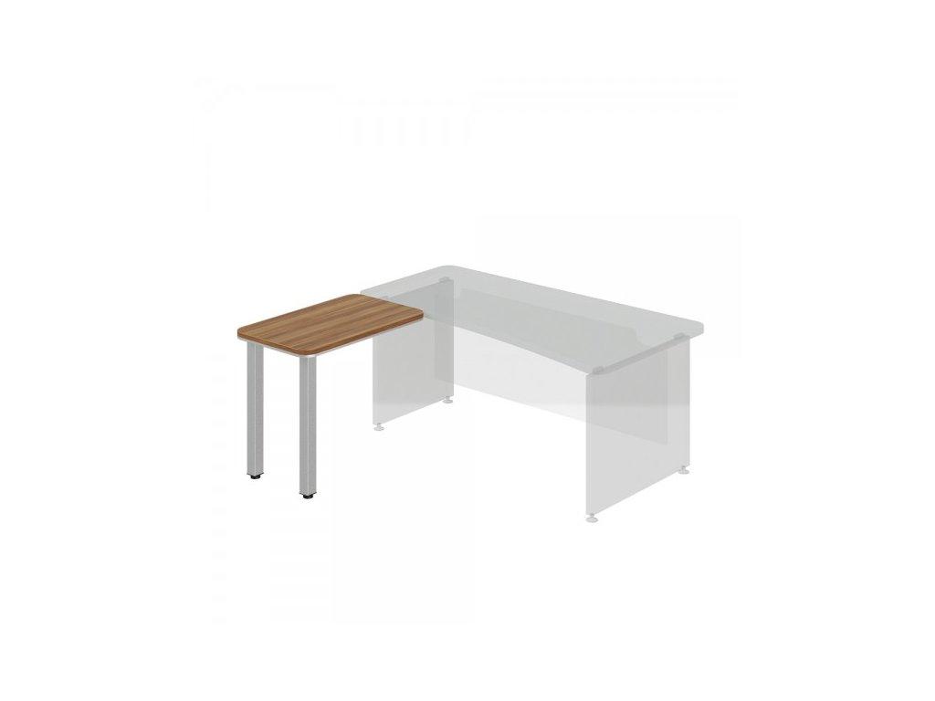 Přístavný stůl TopOffice, levý, 90 x 55 cm / Merano