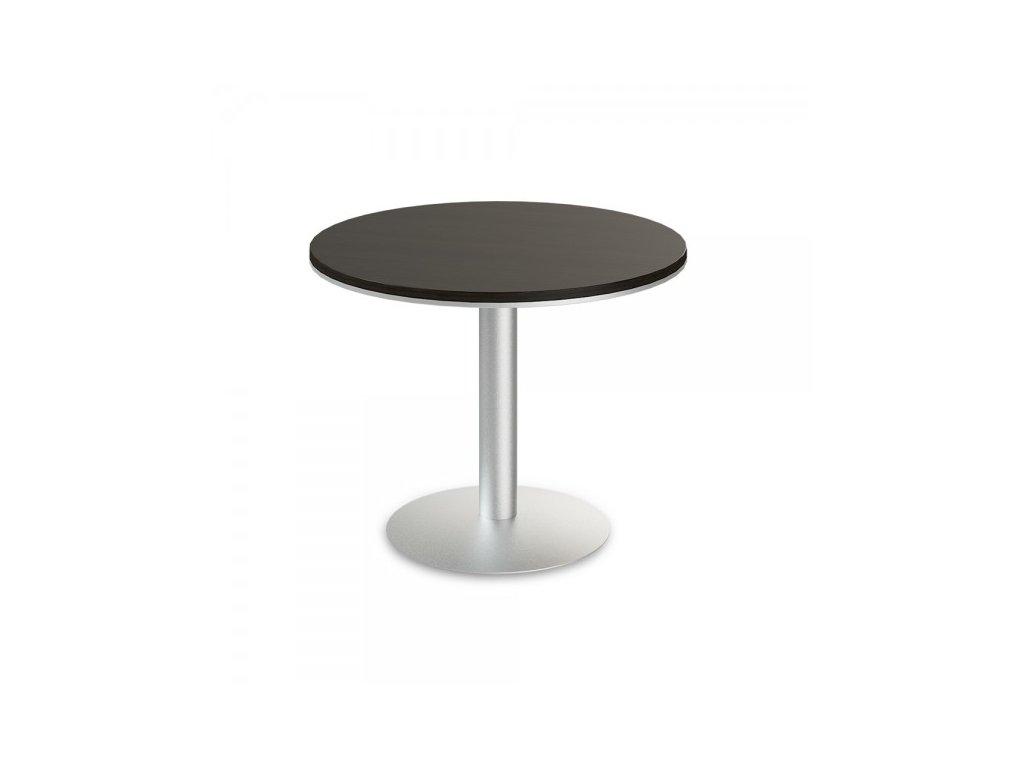 Jednací stůl TopOffice, průměr 100 cm / Wenge