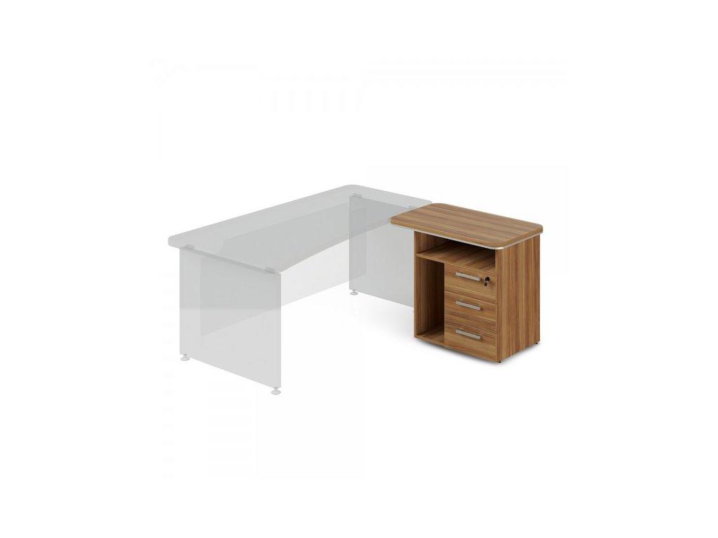 Přístavný kontejner TopOffice, pravý, 90 x 55 cm / Merano