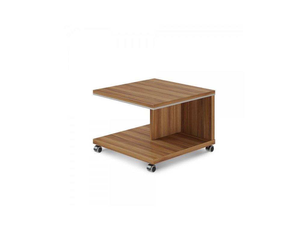 Konferenční stolek mobilní TopOffice 70 x 70 cm / Merano