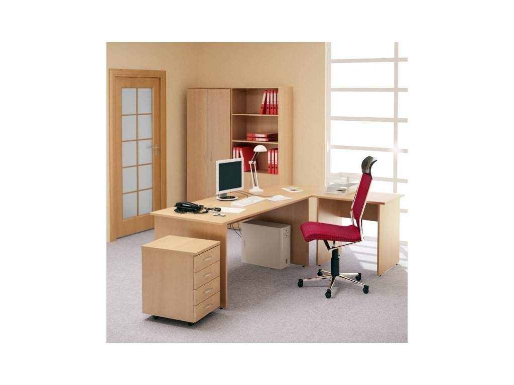Kancelářský nábytek sestava Impress 1 / Javor