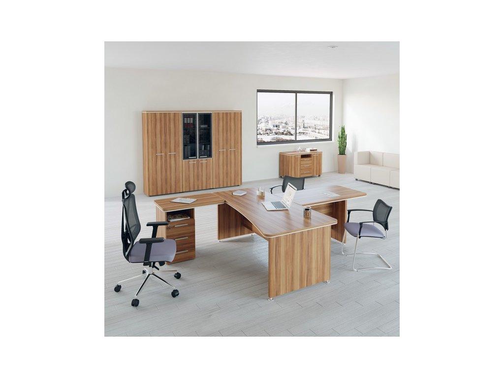 Sestava kancelářského nábytku TopOffice 1 / Merano