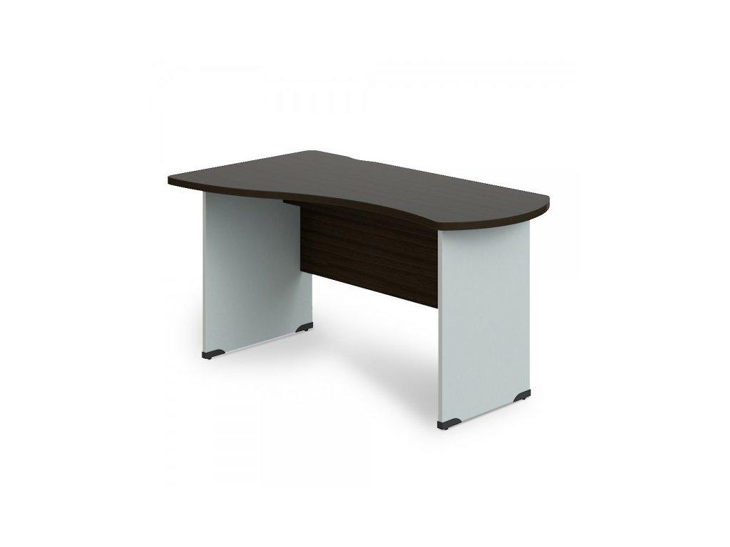 Rohový stůl Manager, levý 140 x 80 cm / Wenge