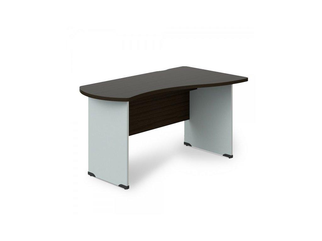 Rohový stůl Manager, pravý 180 x 120 cm / Wenge