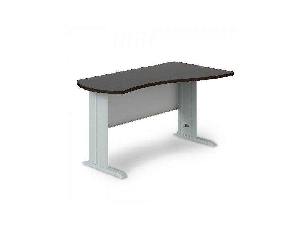 Rohový stůl Manager, pravý 140 x 80 cm / Wenge