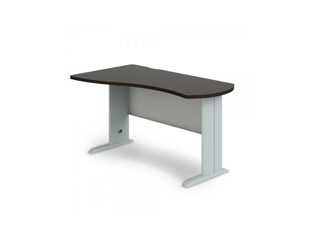 Rohový stůl Manager, levý 160 x 100 cm / Wenge