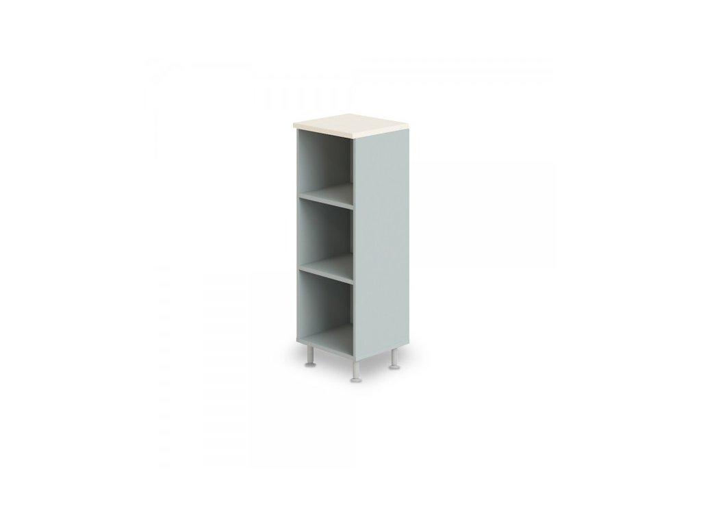 Střední úzká skříň Manager LUX 45 x 43 x 129,2 cm / Bříza