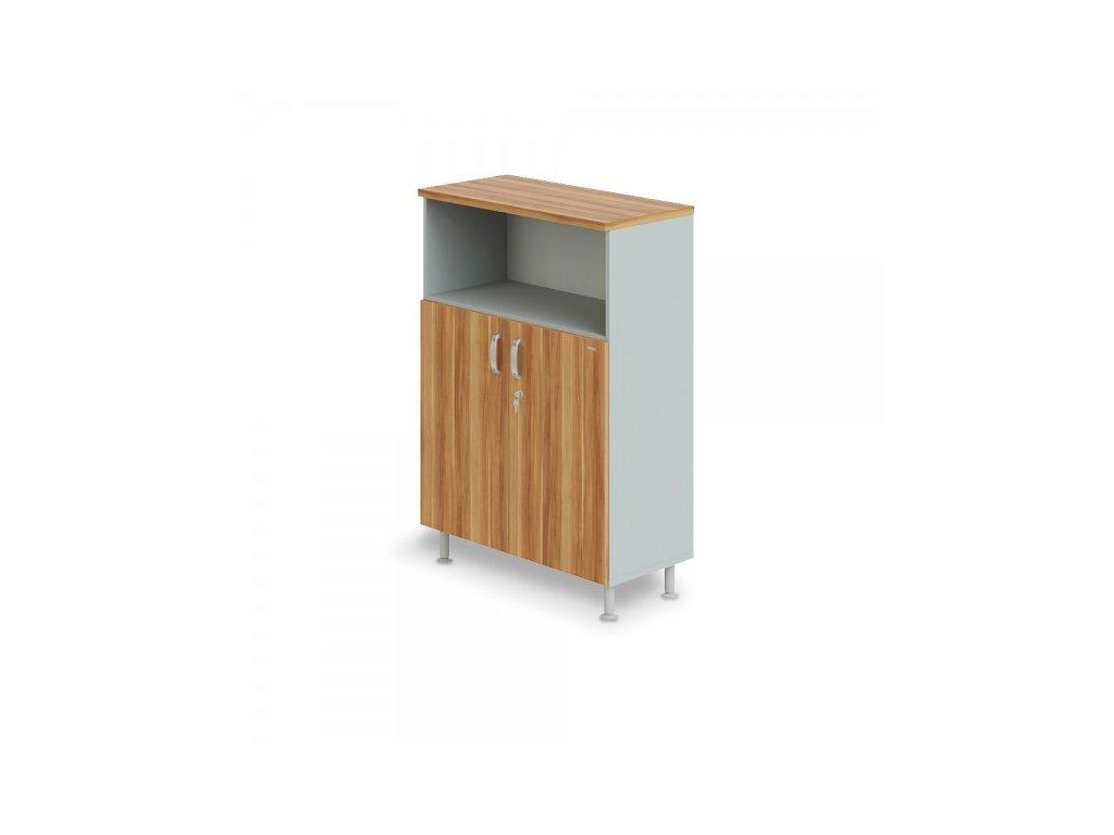 Střední široká skříň Manager LUX 90 x 43 x 129,2 cm / Merano