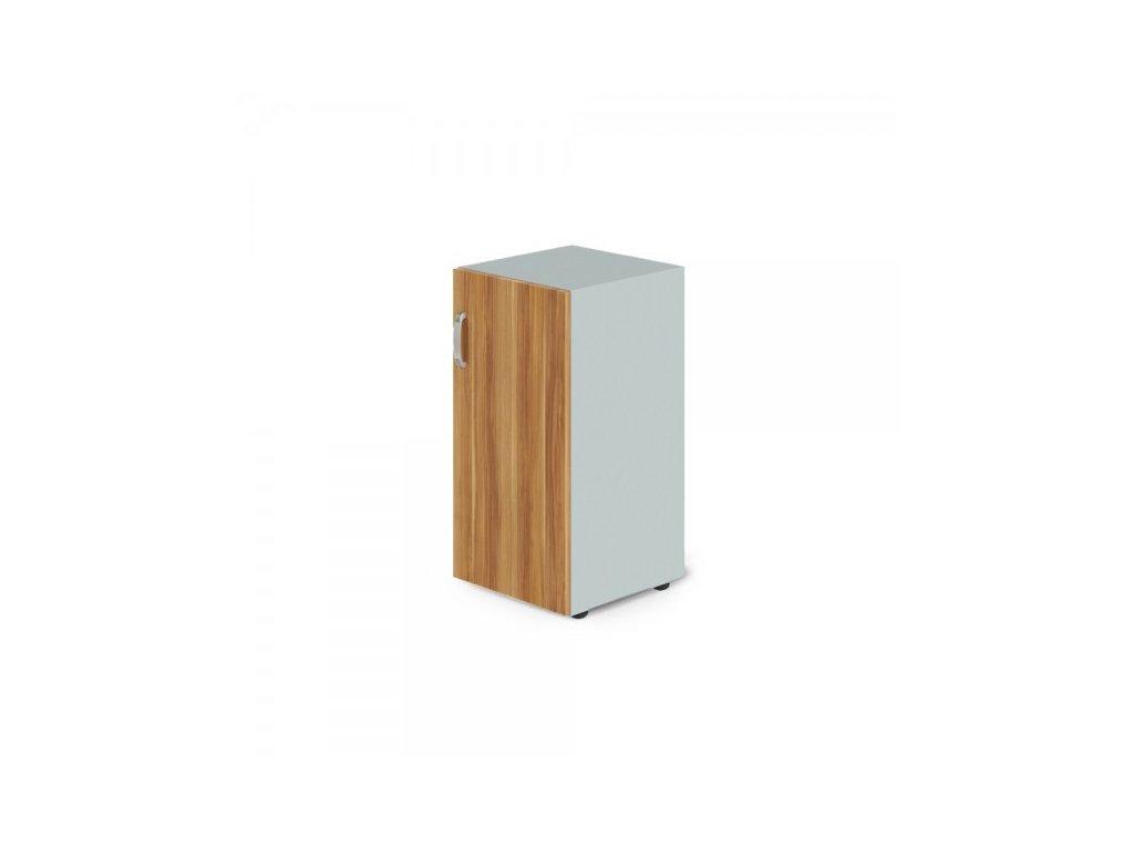 Nízká skříň Manager, pravá 39,9 x 42,2 x 80 cm / Merano