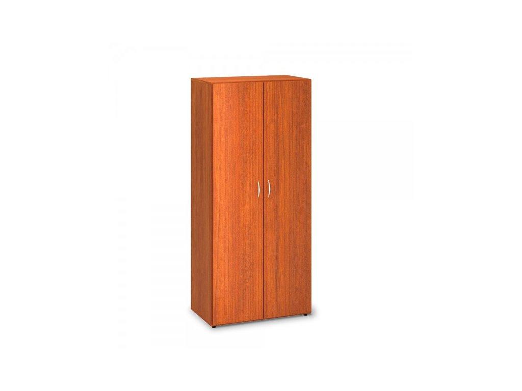 Vysoká šatní skříň ProOffice 80 x 47 x 178 cm / Třešeň
